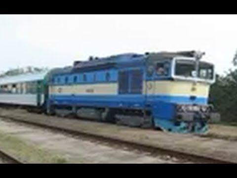 "Czech Republic: CD class 754 ""Goggle"" diesel locomotives at Nemotice & near Brno Slatina, S. Moravia"