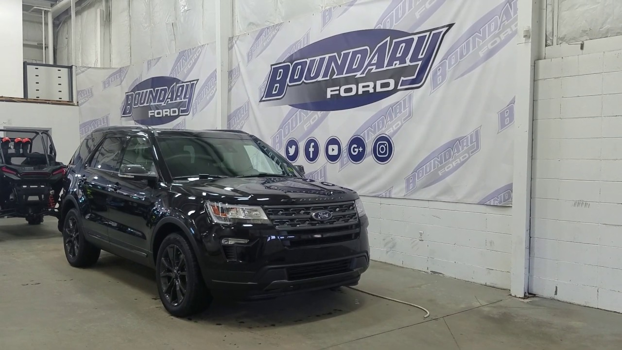 2019 ford explorer xlt appearance 202a w 3 5l leather overview boundary ford