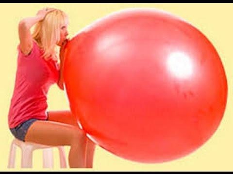 большой шарик ! огромный шар ! шар гигант!! - YouTube