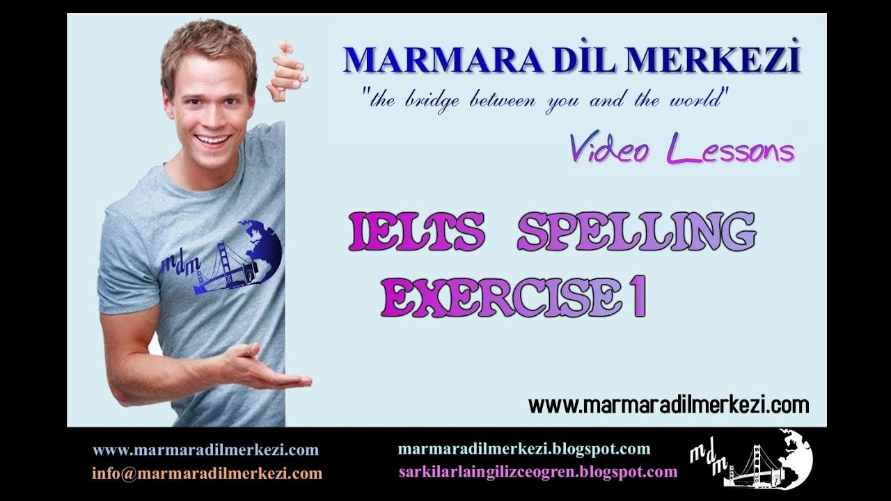Ielts Spelling Exercise