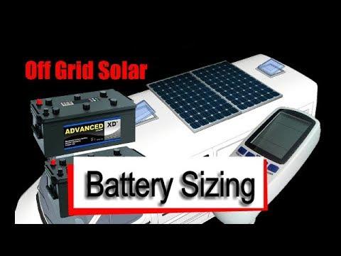 Mercedes Sprinter Camper Van - Battery & Solar Sizing