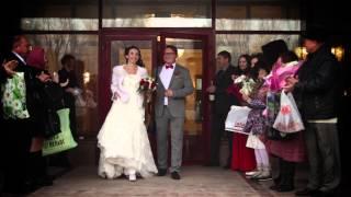 Небольшой видео-отчет со свадьбы Андрея и Любови 15 марта