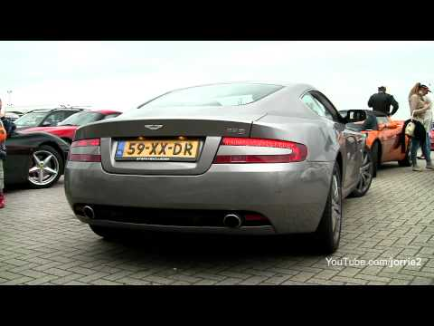 Aston Martin DB9 Sound!! - 1080p HD