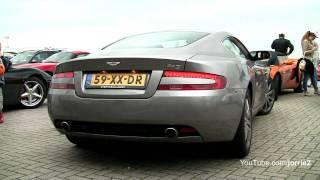 Aston Martin DB9 Sound!! - 1080p HD