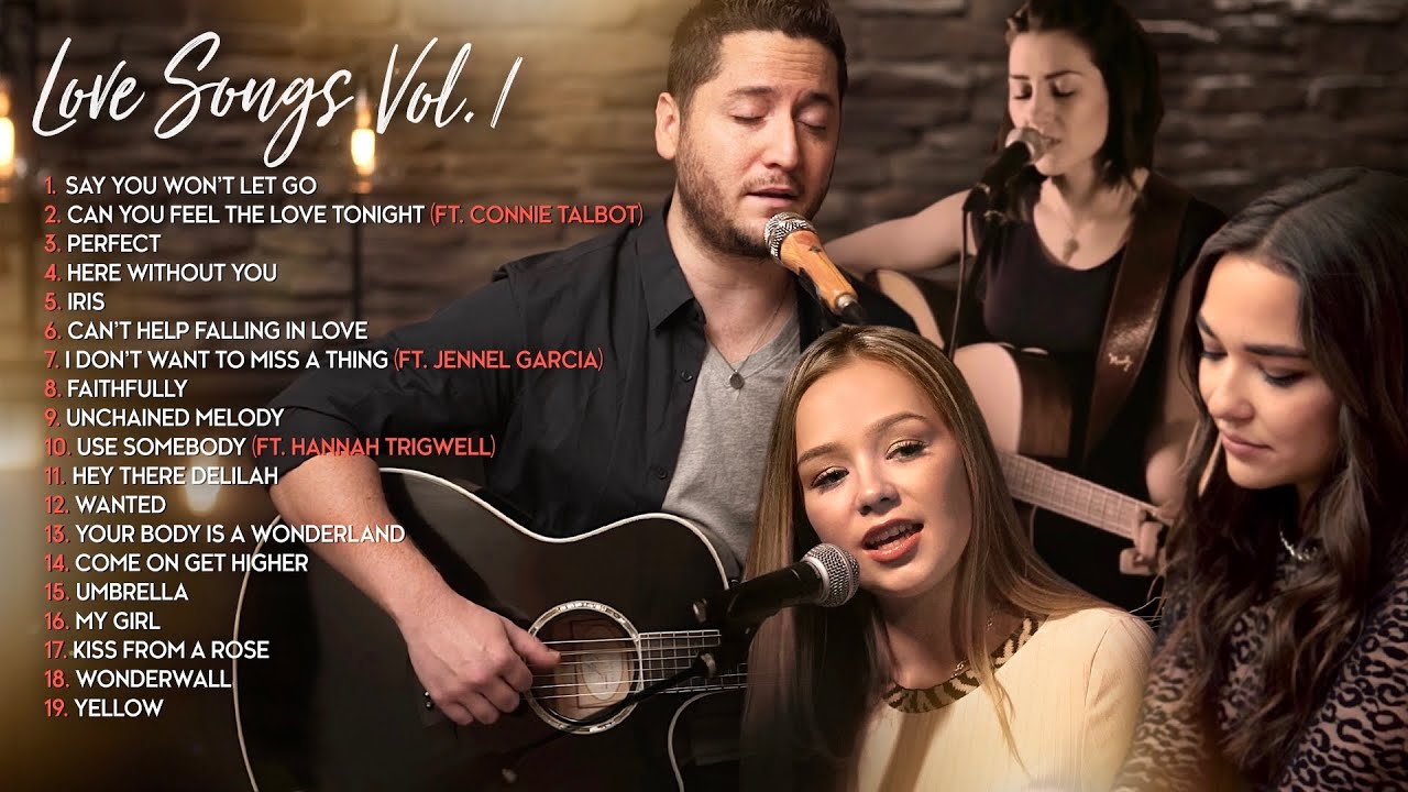 Boyce Avenue Acoustic Cover Love Songs/Wedding Songs (Connie Talbot, Jennel Garcia, Hannah Trigwell) Maxresdefault