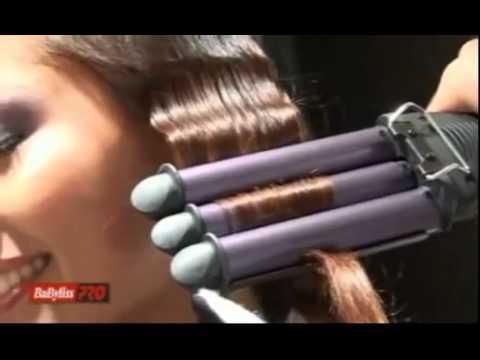 BaByliss BP2269 Tourmalinos tripla hajsütővas - YouTube bc3dd80c05