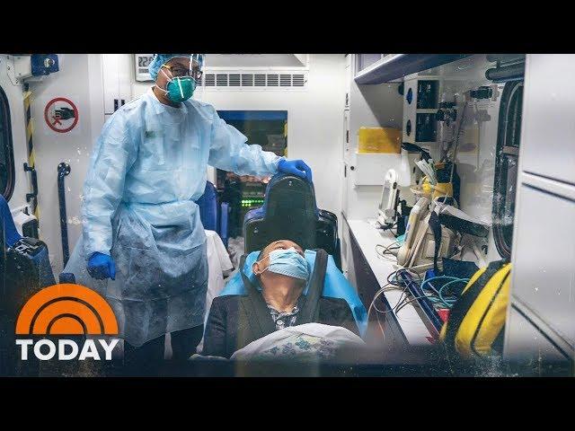 coronavirus people collapsing
