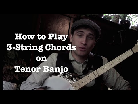 Free Tenor Banjo Lesson: How to Play Three-String Chords (Part 1) presented by Jazz Banjo Academy