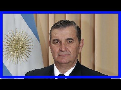 Argentina navy chief sacked over submarine tragedy