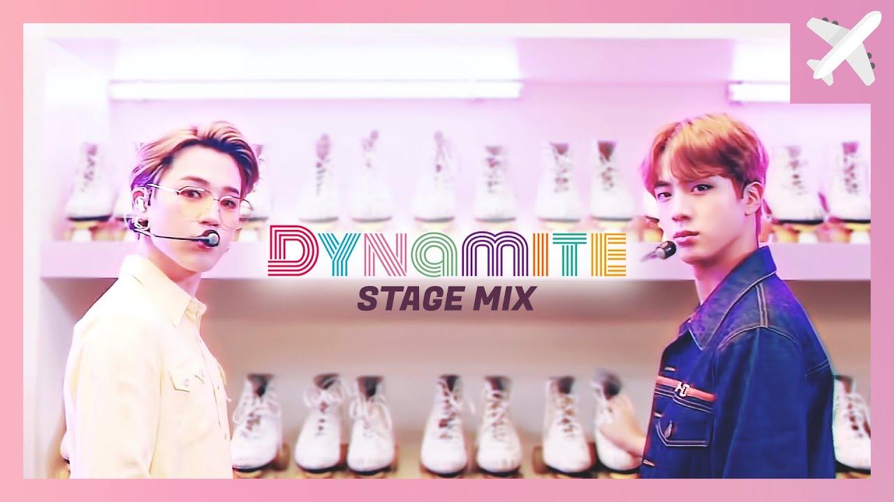 방탄소년단(BTS) - Dynamite 교차편집 (StageMix)