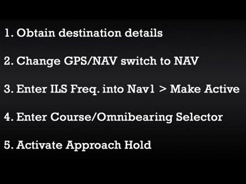 EASY 5 Step ILS Tutorial (No GPS)