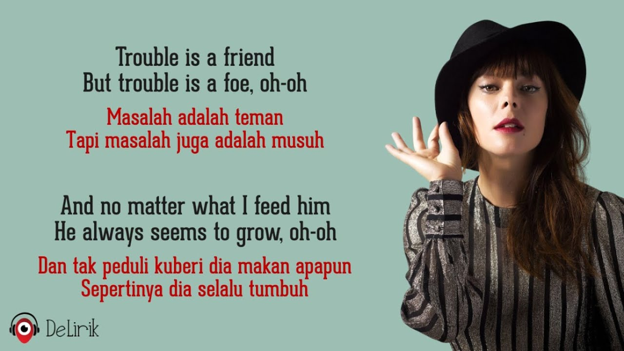 Download Trouble Is A Friend - Lenka (Lyrics video dan terjemahan)
