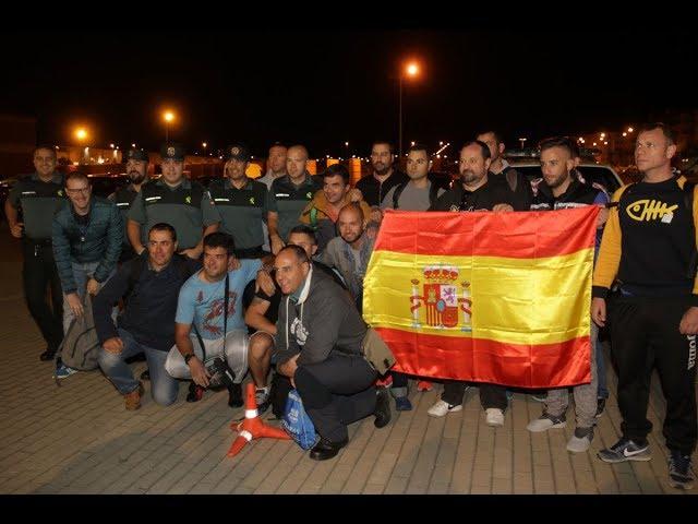 Salida de Guardias Civiles de Salamanca hacia Cataluña