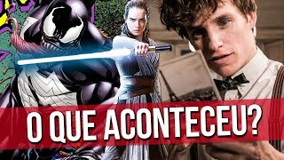 Venom, Animais Fantásticos e Star Wars. O que aconteceu? #RapaduraLIVE