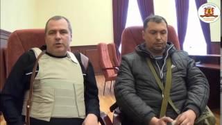 Луганск: интервью с Армией Юго-Востока 07.04.2014 из захваченного здания СБУ