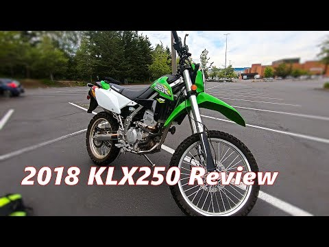 2018 Kawasaki KLX250 Review | First Impressions