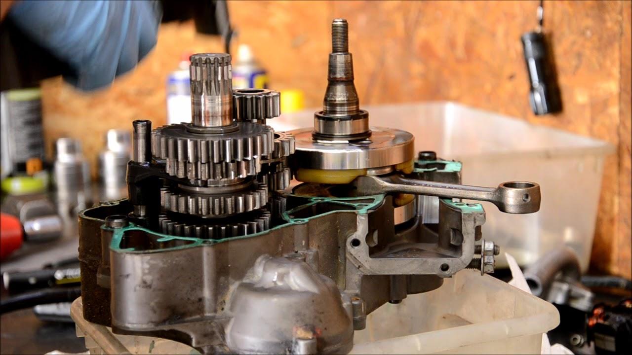 Ricostruzione Motore Ktm Exc 125 Complete Engine