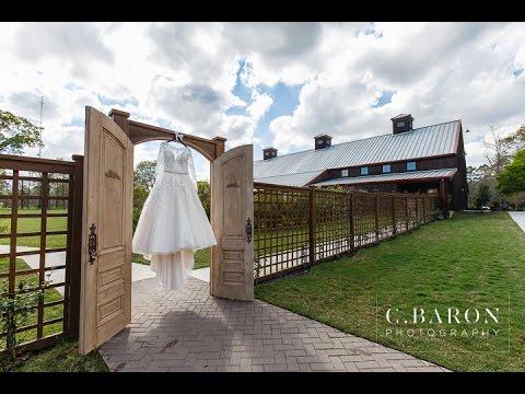 Houston Wedding Cinematographer The Carriage House Alissa Mark C Baron Photography