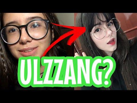 IMITEI UMA ULZZANG E OLHA NO QUE DEU! ( ULZZANG MAKEUP)|Lauraa Menezes