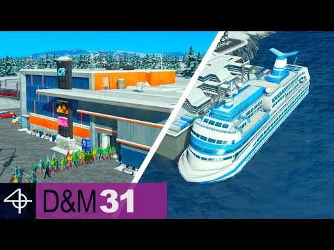 Boosting Tourism with these Services | Unmodded Cities: Skylines – Design and Manage, Part 31