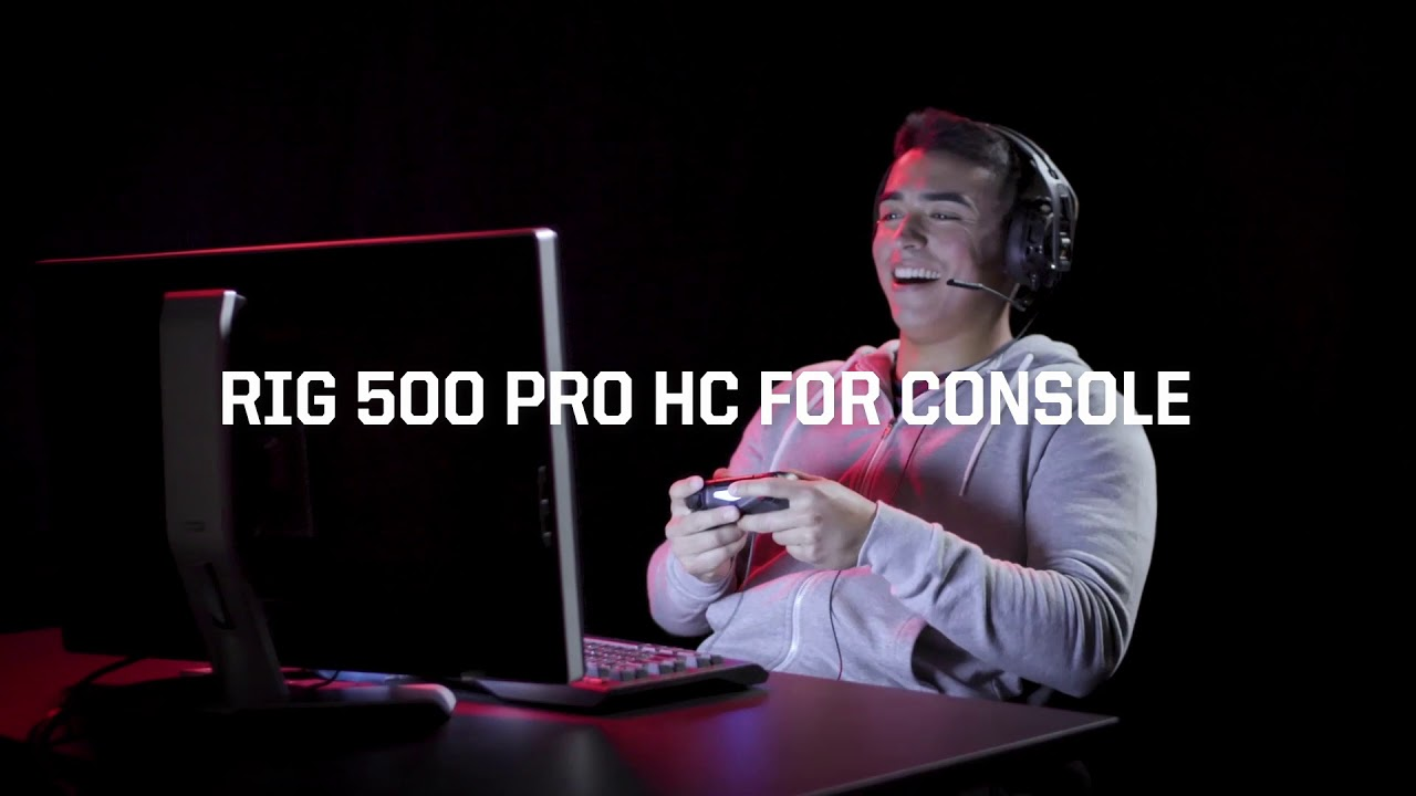 RIG 500 PRO HC High Resolution Surround-Ready Gaming Headset for Xbox One   - Gaming Headsets UK