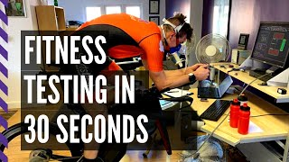 A VO2max Test in 30 Seconds