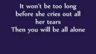 Brandon Hines - When a girl cries (Lyrics)
