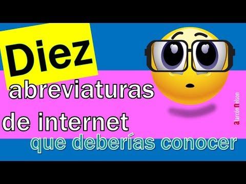Diez abreviaturas de internet que deberías conocer