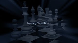 Chess Titans Computer Game   Level 5   Full game
