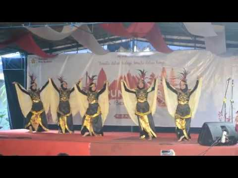 Tari Garuda Nusantara  - Sandyakala Di PPSMB Kampung Budaya FIB UGM 2018