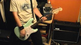 "Blink-182 ""The Rock Show"" Guitar Cover 2011"