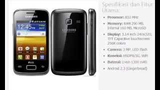 Harga Hp Samsung Galaxy Y Duos S6102