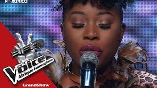 "Verushka ""Je suis malade"" Serge Lama | The Voice Afrique francophone 2016"
