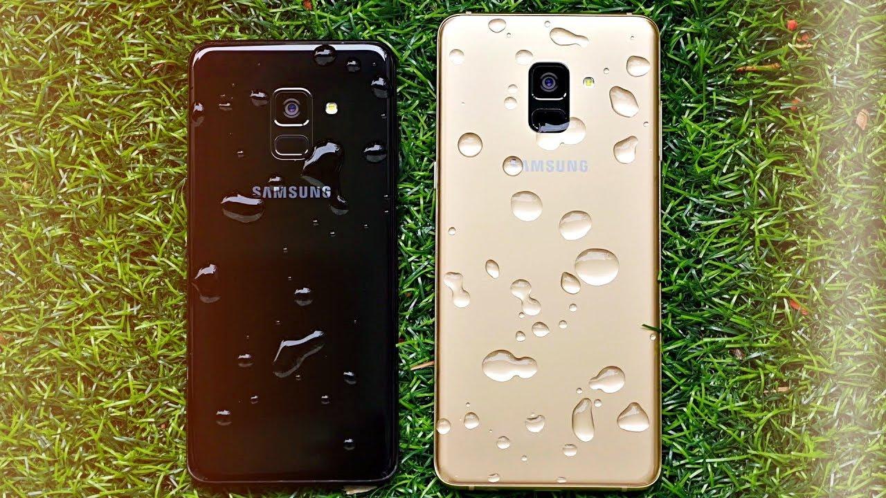 Samsung Galaxy A8 2018 Flagship Level Youtube