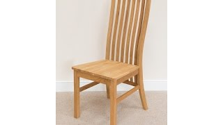 Lichfield Timber Seat Solid Oak Dining Chair