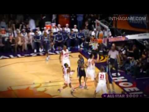 Allen Iverson Ball Fake and Finish 2009 NBA All-Star Game