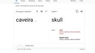How 2 Pronounce Caveira