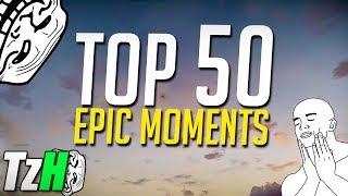TOP 50 EPICKICH MOMENTÓW - Trolluj z Hitmenem - Battlefield (MrHitmen90)