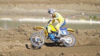 Old school meets new school with 1980s motocross legend Scott Burnw...