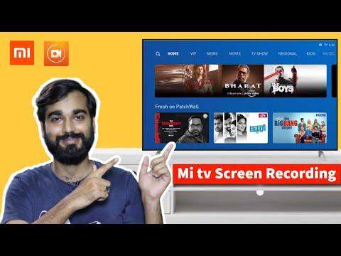 Mi tv screen recording   Record Android tv Screen   TV ke screen Record Kaise kare   tv screen Recod