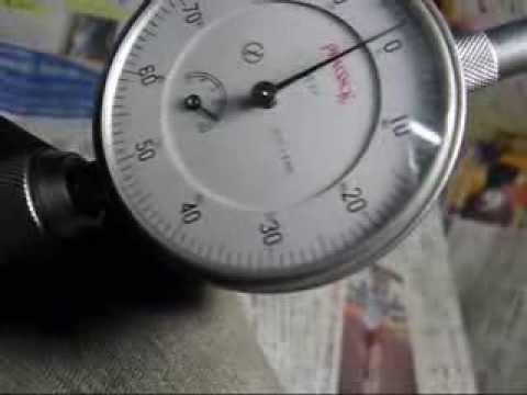 社外品シリンダーにおける内径精度の計測例