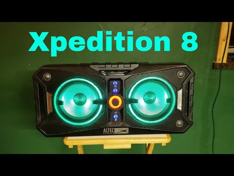 Altec Lansing Xpedition 8 FULL Review - YouTube