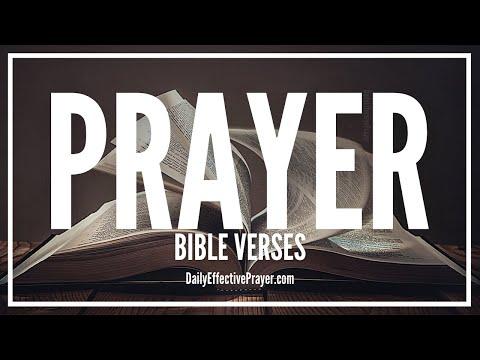 Bible Verses On Prayer - Scriptures For Prayer (Audio Bible)