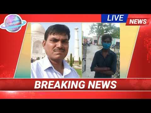 AAJ KA SAFAR MEDIA, क्वारंटाइन सेण्टर पहुंचे अयोध्या से राम जतन यादव