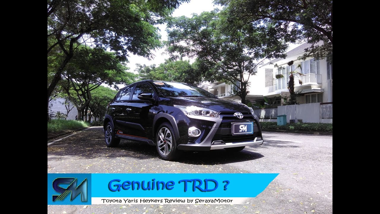 toyota yaris trd heykers berat all new kijang innova review youtube