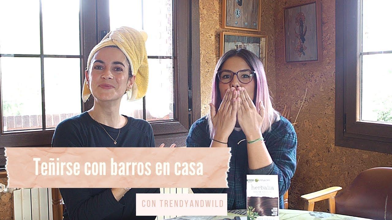 Coloración Con Barros En Casa Herbalia De Garnier Conache Youtube