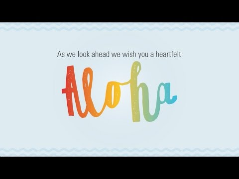 Aloha and Mahalo from the Hawaii Tourism Authority!