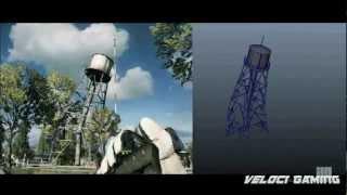Battlefield 3 Destruction simulation 3D maya + Frost bite 2.0 [HD]