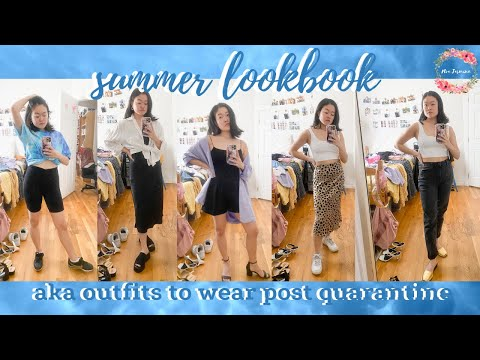 Summer Lookbook 2020 🌻  Aka Outfits To Wear Once Quarantine Is Over | Noa Jasmine