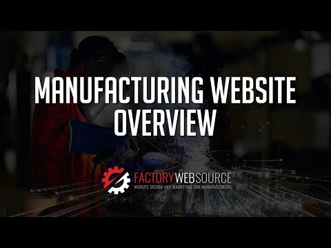 How to Design a Manufacturing Website – Factory Web Source